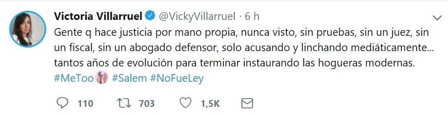 victoria villarruel