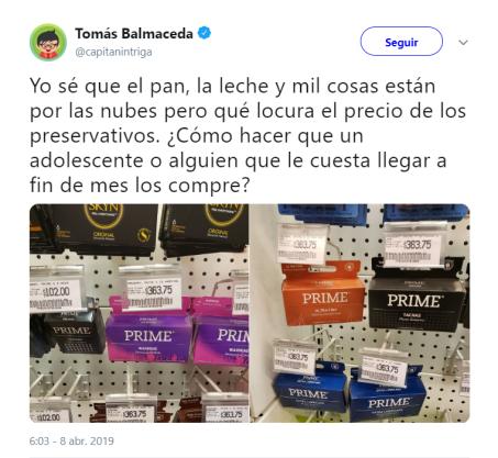 precio preservativos